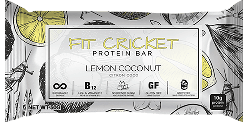 Fit Cricket Lemon Coconut Protein Bar