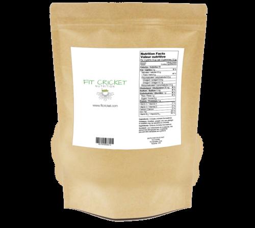 Cricket protein powder, 100% protein powder