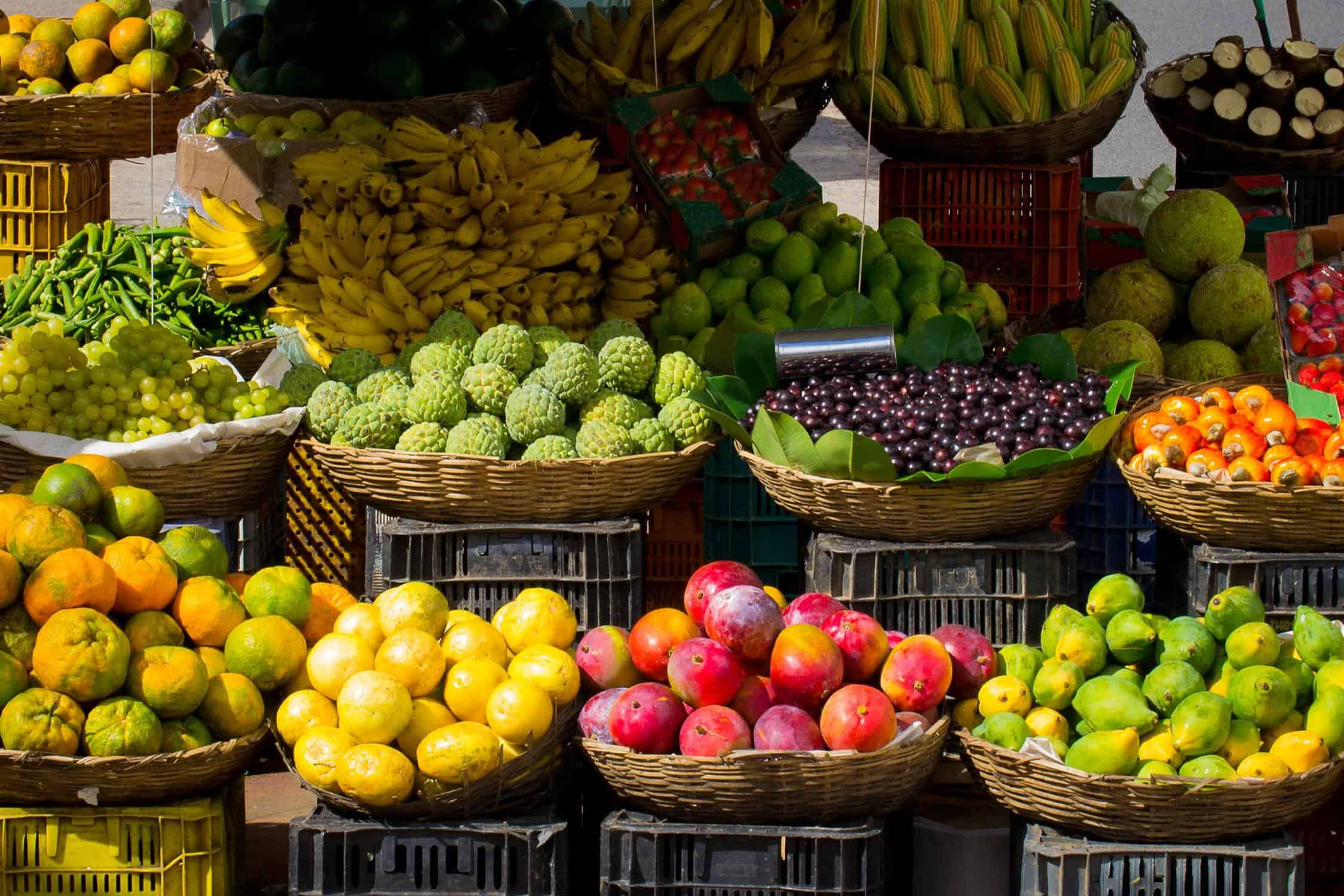 Fruits and Vegetables at Asian Market