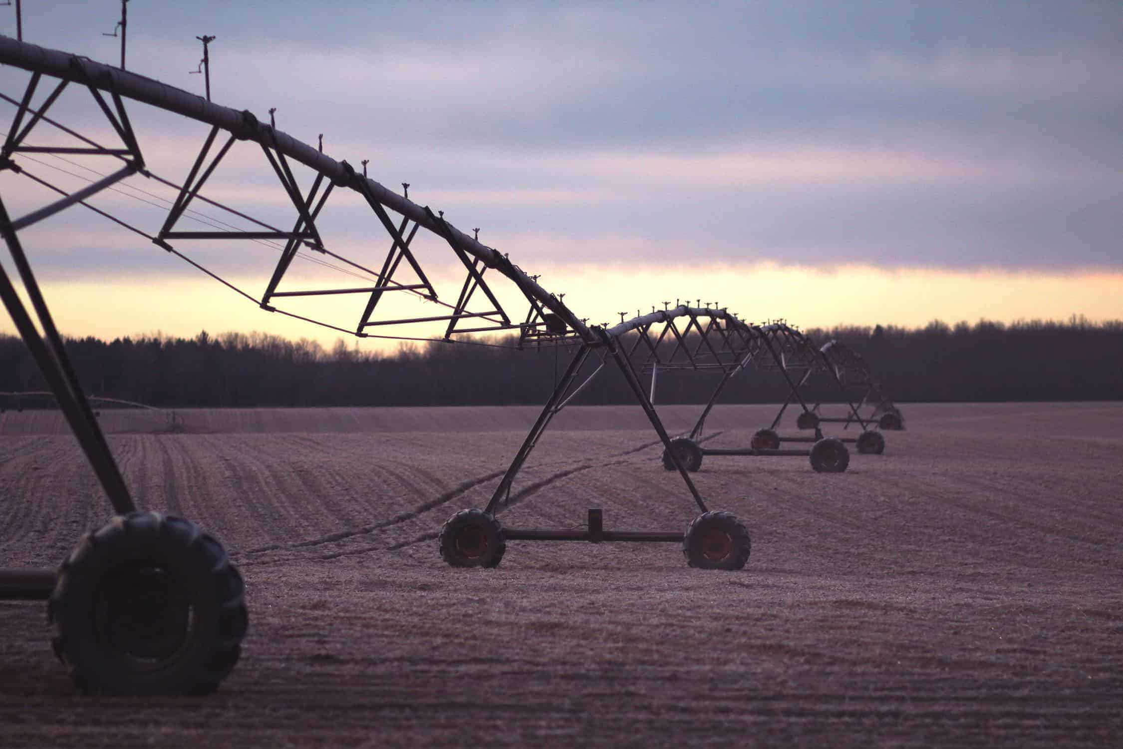 Irrigation system to farm and get rid of bugs